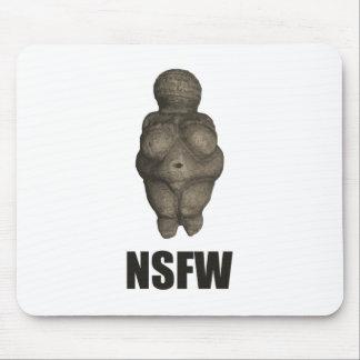 NSFW Prehistoric Venus Figurine Mouse Pad