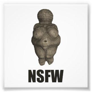 NSFW Prehistoric Venus Figurine Photo Print