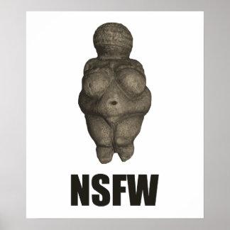 NSFW Prehistoric Venus Figurine Posters