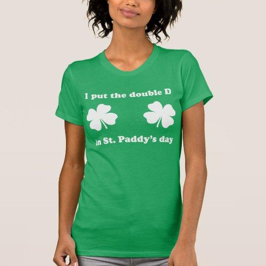 NSPNwtxt St. Paddy's Double D Green T-Shirt