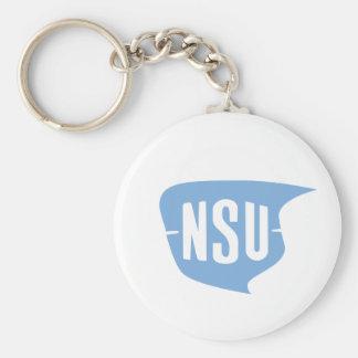 NSU Logo Key Ring
