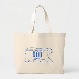 NU sample Jumbo Tote Bag