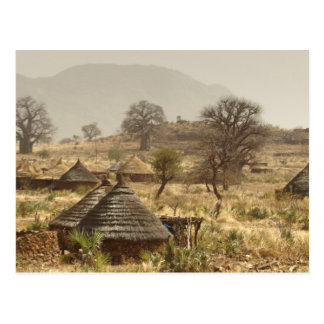 Nuba Mountains, Nugera village Postcard