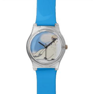 Nubbie the Chubbie Japanese Bobtail watch