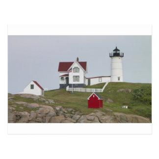 Nubble Light House Postcard