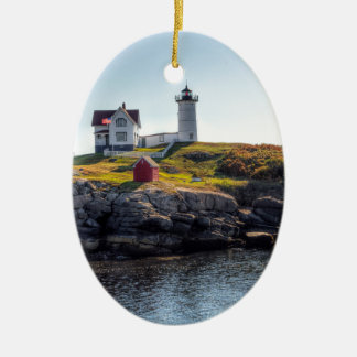 Nubble Lighthouse Christmas Ornament