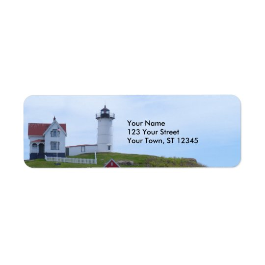 Nubble Lighthouse - Maine Return Address Label