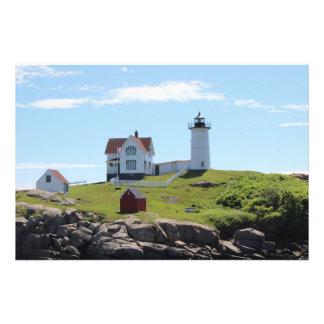 Nubble Lighthouse Photograph