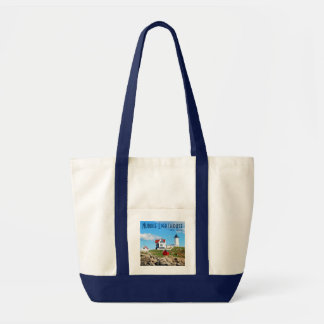 Nubble Lighthouse, York, Maine tote bag