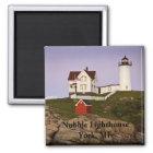Nubble Lighthouse-York, ME Magnet
