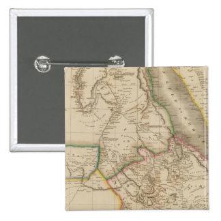 Nubia, Abyssinia, Africa 15 Cm Square Badge