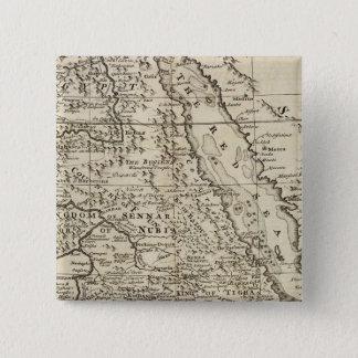 Nubia and Abissinia, Africa 15 Cm Square Badge