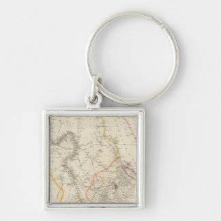 Nubia and Abyssinia Key Ring