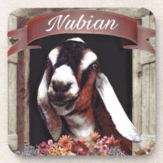 Nubian Goat Coasters