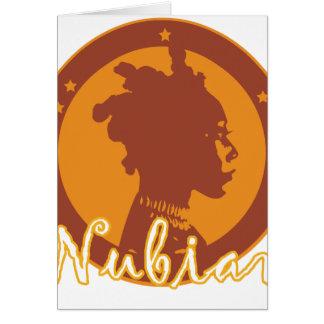 Nubian Greeting Card