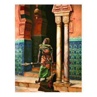 Nubian Guard by Deutsch Postcard