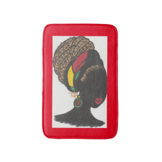 Nubian Queen 2 Bath Mats