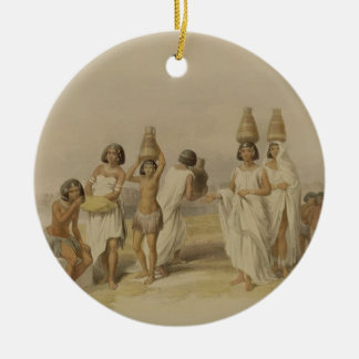 """Nubian Women at Kortie on the Nile, from """"Egypt an Round Ceramic Decoration"""