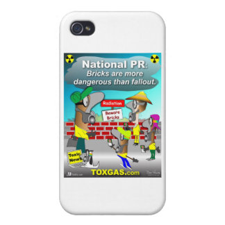 Nuclear Bricks iPhone 4/4S Cover