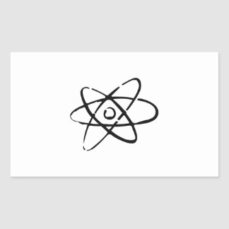 NUCLEAR ENERGY RECTANGLE STICKER