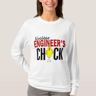 NUCLEAR ENGINEER'S CHICK T-Shirt