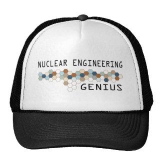 Nuclear Engineering Genius Cap
