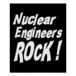 Nuclear Engineers Rock! Poster Print