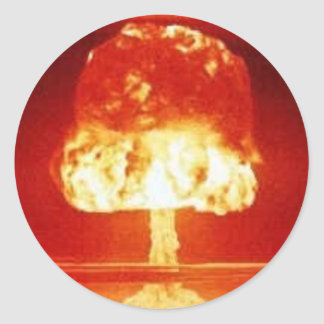 nuclear-explosion round sticker