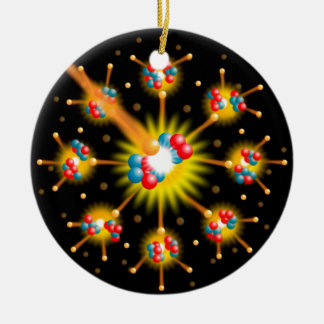 Nuclear Fission Christmas Ornament