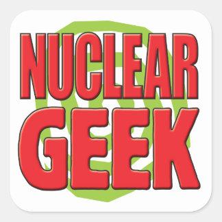 Nuclear Geek Sticker
