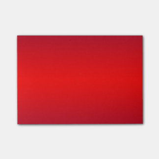 Nuclear Gradient Red Trend Color Background Post-it® Notes