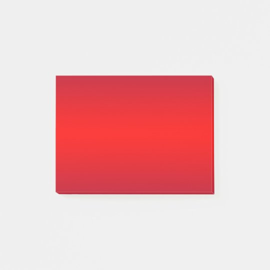 Nuclear Gradient Red Trend Colour Background Post-it Notes