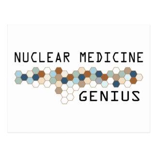 Nuclear Medicine Genius Postcard