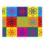 Nuclear Medicine Pop Art Post Cards