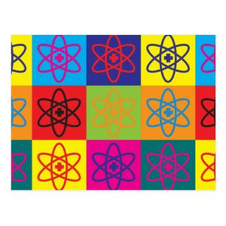 Nuclear Medicine Pop Art Postcard