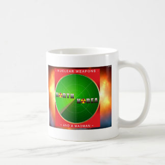 Nuclear North Korea Basic White Mug