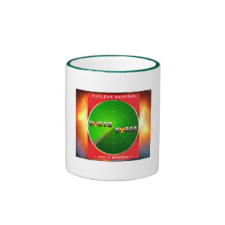 Nuclear North Korea Ringer Mug