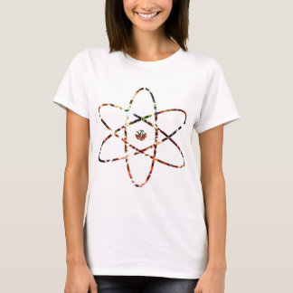 Nuclear Nucleas -  Red Sparkle Design T-Shirt