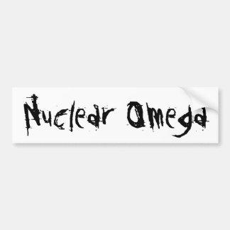 Nuclear Omega Bumper Sticker