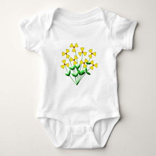 Nuclear power nuclear power flowers plants flowers baby bodysuit