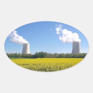 Nuclear power plant - Centrale nucléaire Adhésifs