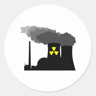Nuclear Power Round Sticker