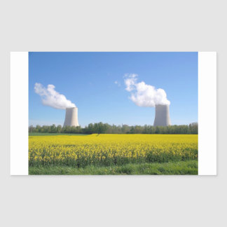 Nuclear power seedling - Nuclear power plant Rectangular Sticker