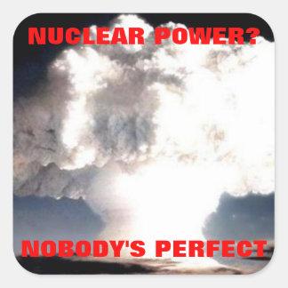 nuclear power sticker