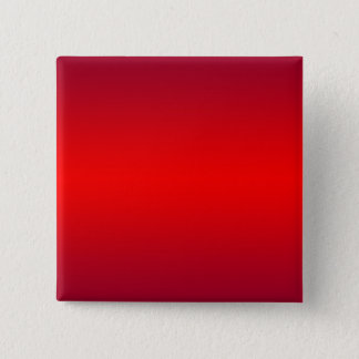 Nuclear Red Gradient - Poppy Reds Template Blank 15 Cm Square Badge