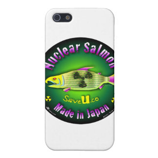 Nuclear Salmon iPhone 5 Cases