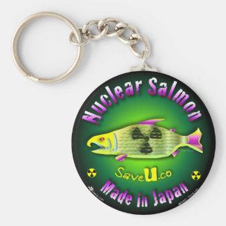 Nuclear Salmon Key Chain