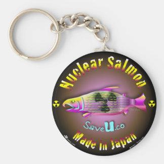 Nuclear Salmon Keychain