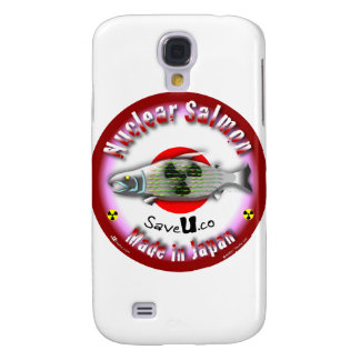 Nuclear Salmon red Galaxy S4 Cover