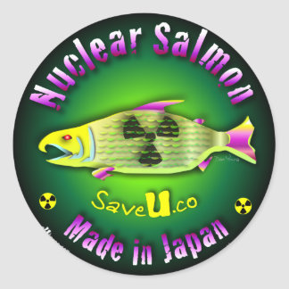 Nuclear Salmon Stickers